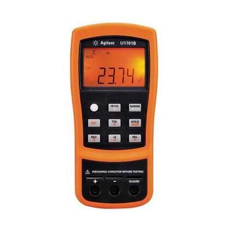 Capacimètre portable 11 000 points double affichage : U1701B
