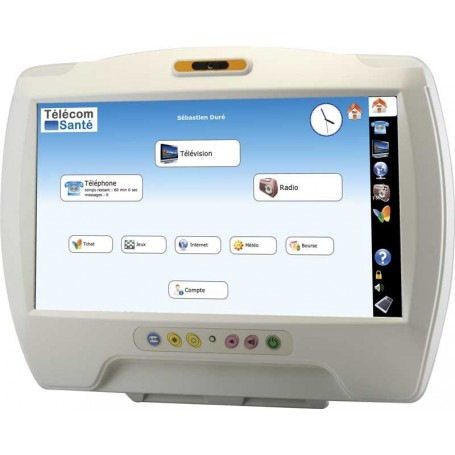 Panel PC au lit du patient (bedside) 15.6'' : ONYX-BE-150