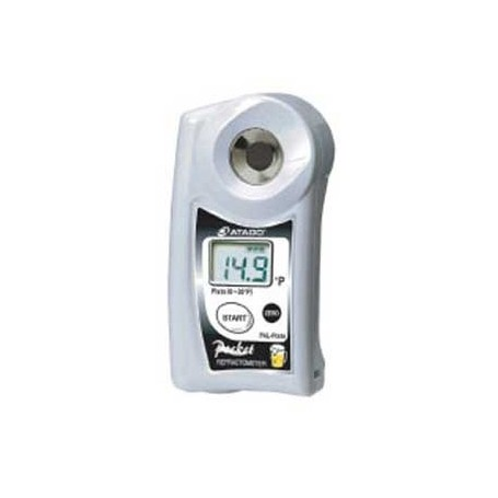 Réfractomètre numérique Plato pour bière IP65 : PAL-PLATO