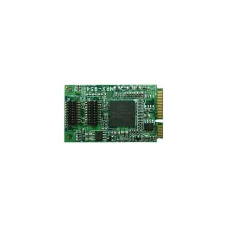 PCI Express mini card supports 4 x RS232 : MPX-954