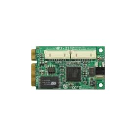 PCI Express Mini Card supports 2 x SATAII (RAID 0, RAID 1) : MPX-3132