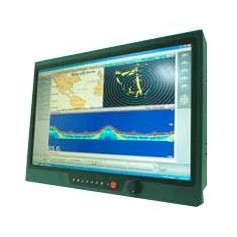 "17"" IP68 Sunlight Readable Marine Display : NAVPIXEL NPD1744"