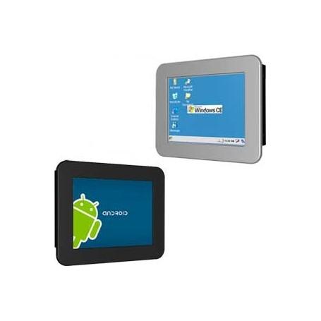 Panel PC ARM 07 Inch widescreen HMI Based on TI Sitara AM3517 : Th-0735W