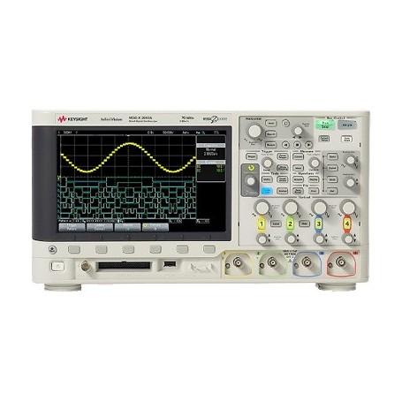 Oscilloscope à signaux mixtes 200MHz - 4 voies : MSOX2024A