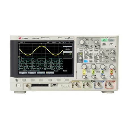 Oscilloscope à signaux mixtes 300MHz - 2 voies : MSOX3032A