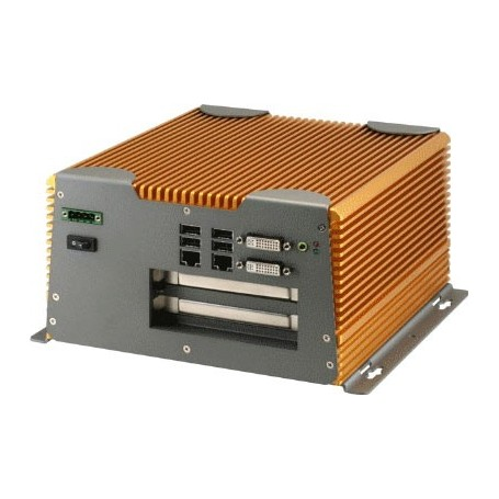 AEC-6924 : Advanced Fanless Embedded Controller With Intel Core 2 Duo Processor And PCI-Express Expansion