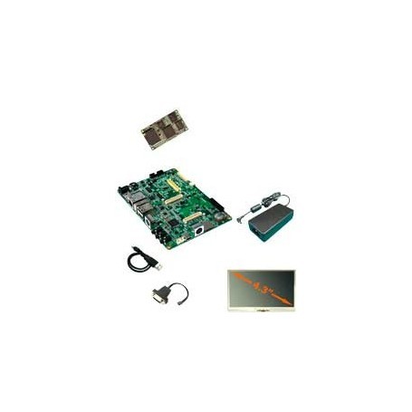 """Kit de développement ARM avec entrée vidéo - Ecran 4.3"""" : Tsunamipack"""