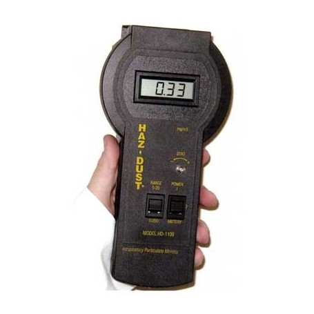 Analyseur portable de poussières respirables : HD-1100