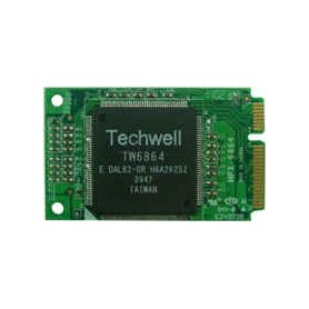 4-ch, real-time @ D1 resoltion Mini-PCIe video capture card : MPX-6864