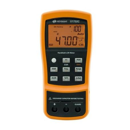 Pont RLC portable 100Hz / 120Hz / 1kHz / 10kHz : U1732C