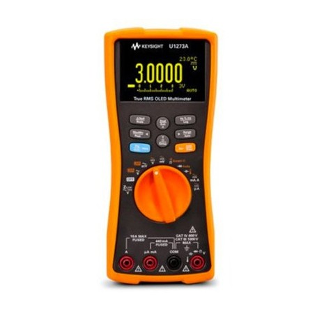 Multimètre OLED AC+DC 100 kHz 4½ digit IP54 : U1273A