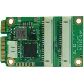 PCI Express mini card support SPI, I2C, 16-bit GPIO : MPX-24794S