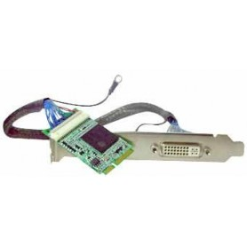 Mini-PCIe VGA card support DVI/VGA output : MPX-750