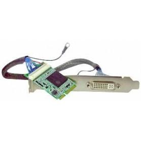 Mini-PCIe VGA card support DVI/VGA output : MPX-750