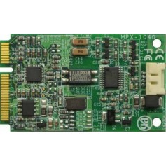 PCI Express mini card features 56K modem