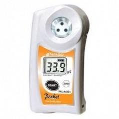 Réfractomètre numérique acidité agrumes : PAL- EASY ACID1