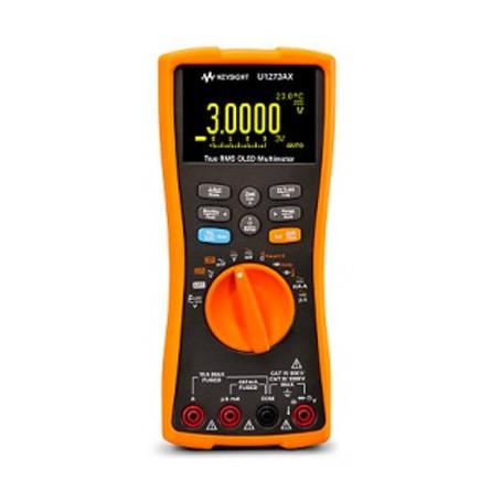 Multimètre OLED AC+DC IP54 Fonctionnement de -40 à +55°C: U1273AX