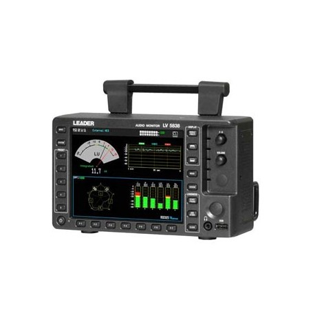 Moniteur audio 3G, HD, SD-SDI et AES/EBU : LV5838