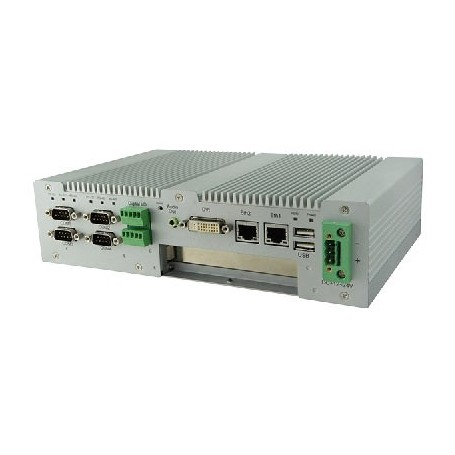 Intel Atom Processor D2550 Based Fanless System : AMS100-807