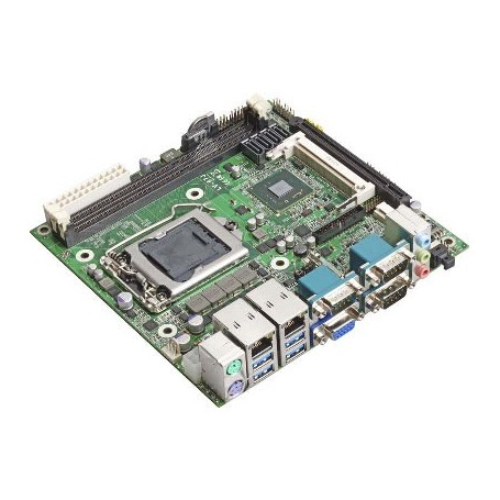 Intel Core i7 / i5 / i3 Mini-ITX Motherboard : LV67J