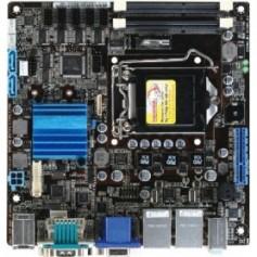 Intel CoreT i7/i5/i3/ Celeron Mini-ITX Motherboard w/ Intel QM77 Chipset : MI970
