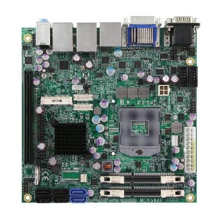 Intel CoreT i7/i5/i3/ Celeron Mini-ITX Motherboard w/ Intel QM67 Chipset : MI956