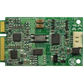 PCI Express mini card features 56K modem : MPX-1040