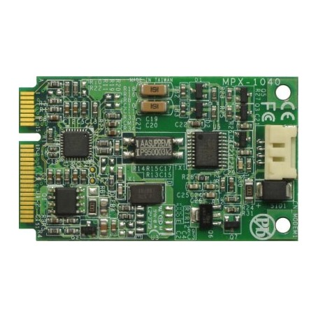 PCI Express mini card features 56K modem : MPX-1040