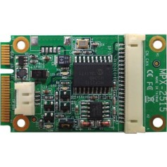 PCI Express mini card support CAN 2.0B : MPX-2515