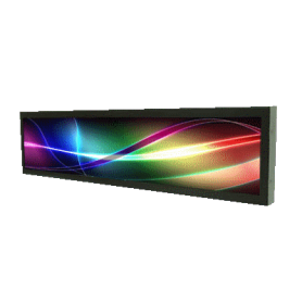 "16.4""Resizing LCD,500 nits LED backlight, 1366x256 ratio 16:3 : SSD1612"