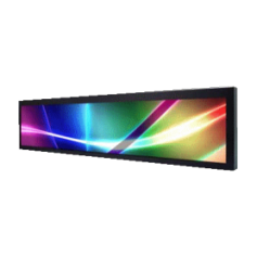 "28""Resizing LCD,500 nits LED backlight, 1920x357 ratio 16:3 : SSD2843"