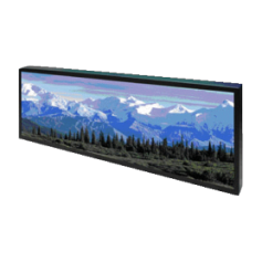 "38""Resizing LCD,700 nits LED backlight, 1920x502 ratio 16:4.2 : SSD3823"