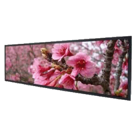 "38"" Resizing LCD, 2000 nits 1920x502 ratio 16:4.2 : SSF3840"