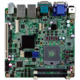 Intel Ivy Bridge QM77 Mini-ITX Industrial MB, Wide Temp. -20 to 70°C : INS8335A