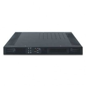 "19"" 1U Rack-mount Intel QM77 Fanless Rugged System -20 to 70°C : ROC235A"