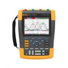 Oscilloscope portable 2 voies 200 MHz : ScopeMeter Fluke 190-202