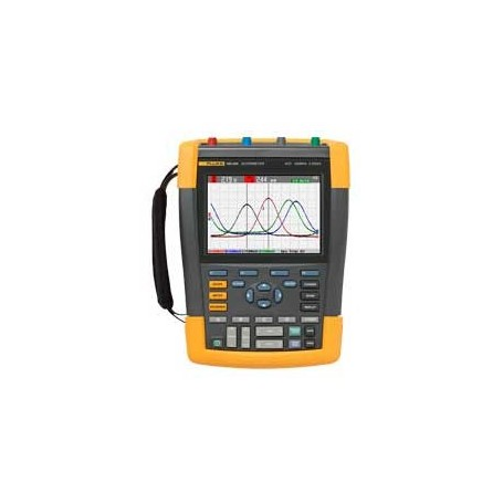 Oscilloscope portable 2 voies 200 MHz : ScopeMeter Fluke 190-202