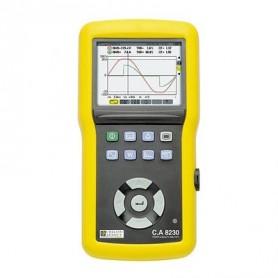 CA8230 : Analyseur de puissance et de qualité monophasé avec 1,5 Mo de mémoire