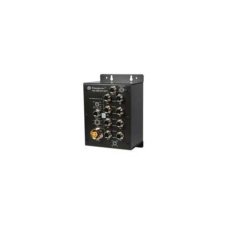 Switch transport EN50155, 8 ports : TES-3080-M12