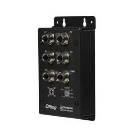 Switch transport EN50155, 5 ports : TES-250-M12