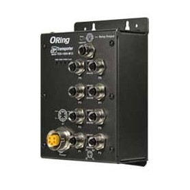 Switch transport EN50155, 8 ports : TES-1080-M12