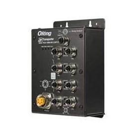 Switch transport EN50155, 8 ports : TES-1080-M12-BP2