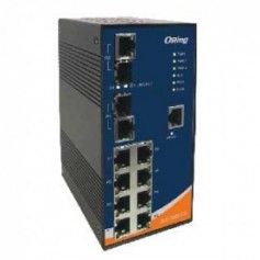 Switch transport EN50155, 10 ports : IES-3082GC
