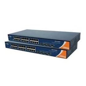 Switch Rackable, 1U 28 ports : RGS-7244GP-E
