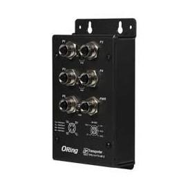 Industrial EN50155 PoE Ethernet Switch, 5ports : TPS-141TX-M12