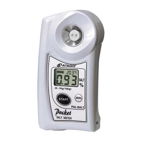 Réfractomètre numérique salinité / Salinomètre : PAL-SALT