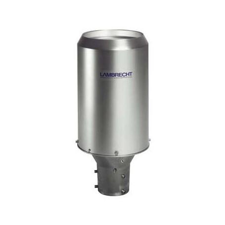 Pluviomètre capteur de précipitation avec auget basculeur selon Joss-Tognini