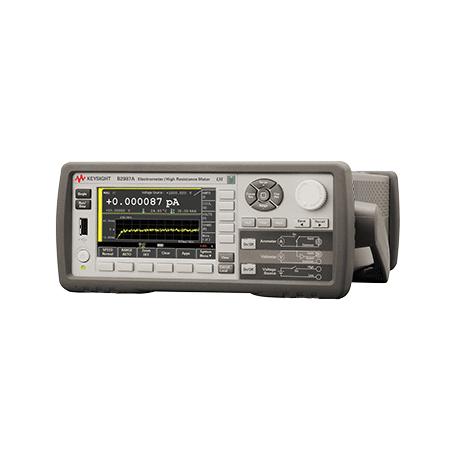 Femto-ampèremètre / pico-ampèremètre et résistancemètre / électromètre : Série B2980A