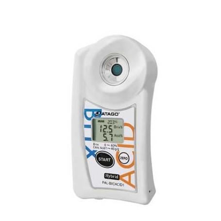 Réfractomètre numérique combiné brix acidité citrique agrumes : PAL-BX-ACID1