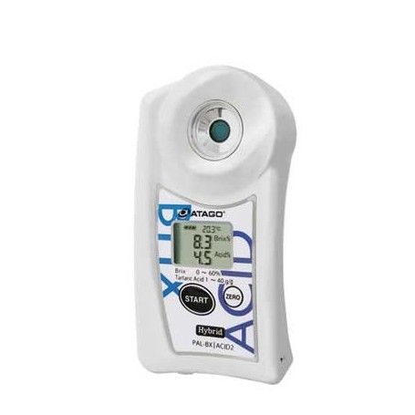 Réfractomètre numérique combiné brix acidité tartrique : PAL-BX-ACID2
